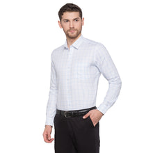 Load image into Gallery viewer, Globus White Checked Shirt2