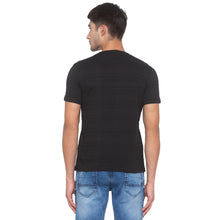Load image into Gallery viewer, Black Striped T-Shirt-3