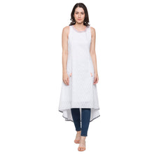 Load image into Gallery viewer, Globus White Printed Kurta-1