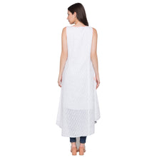 Load image into Gallery viewer, Globus White Printed Kurta-3