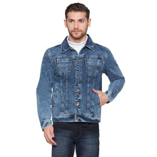 Load image into Gallery viewer, Globus Blue Solid Jacket1