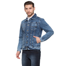 Load image into Gallery viewer, Globus Blue Solid Jacket2