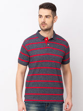 Load image into Gallery viewer, Globus Red Striped T-Shirt-1