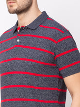 Load image into Gallery viewer, Globus Red Striped T-Shirt-4