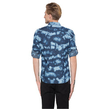 Load image into Gallery viewer, Globus Blue Printed Shirt-3