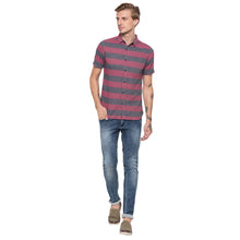 Load image into Gallery viewer, Globus Pink Striped Shirt-4