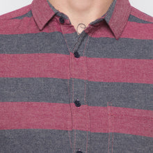 Load image into Gallery viewer, Globus Pink Striped Shirt-5
