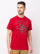 Load image into Gallery viewer, Globus Red Printed T-Shirt-1