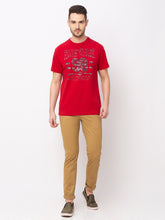 Load image into Gallery viewer, Globus Red Printed T-Shirt-5