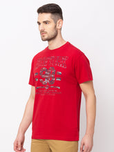 Load image into Gallery viewer, Globus Red Printed T-Shirt-2