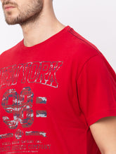 Load image into Gallery viewer, Globus Red Printed T-Shirt-4