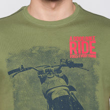Load image into Gallery viewer, Globus Olive Graphic T-Shirt5