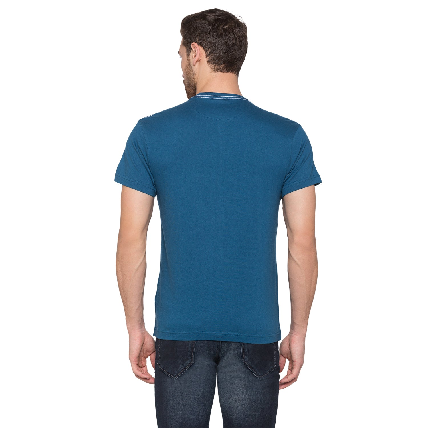 Globus Blue Graphic T-Shirt3