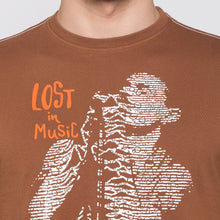 Load image into Gallery viewer, Globus Brown Graphic T-Shirt5