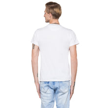 Load image into Gallery viewer, Globus White Printed T-Shirt-3