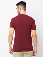 Load image into Gallery viewer, Globus Maroon Printed T-Shirt-3