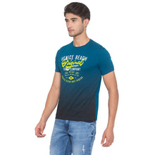 Load image into Gallery viewer, Ink Blue Printed T-Shirt-2