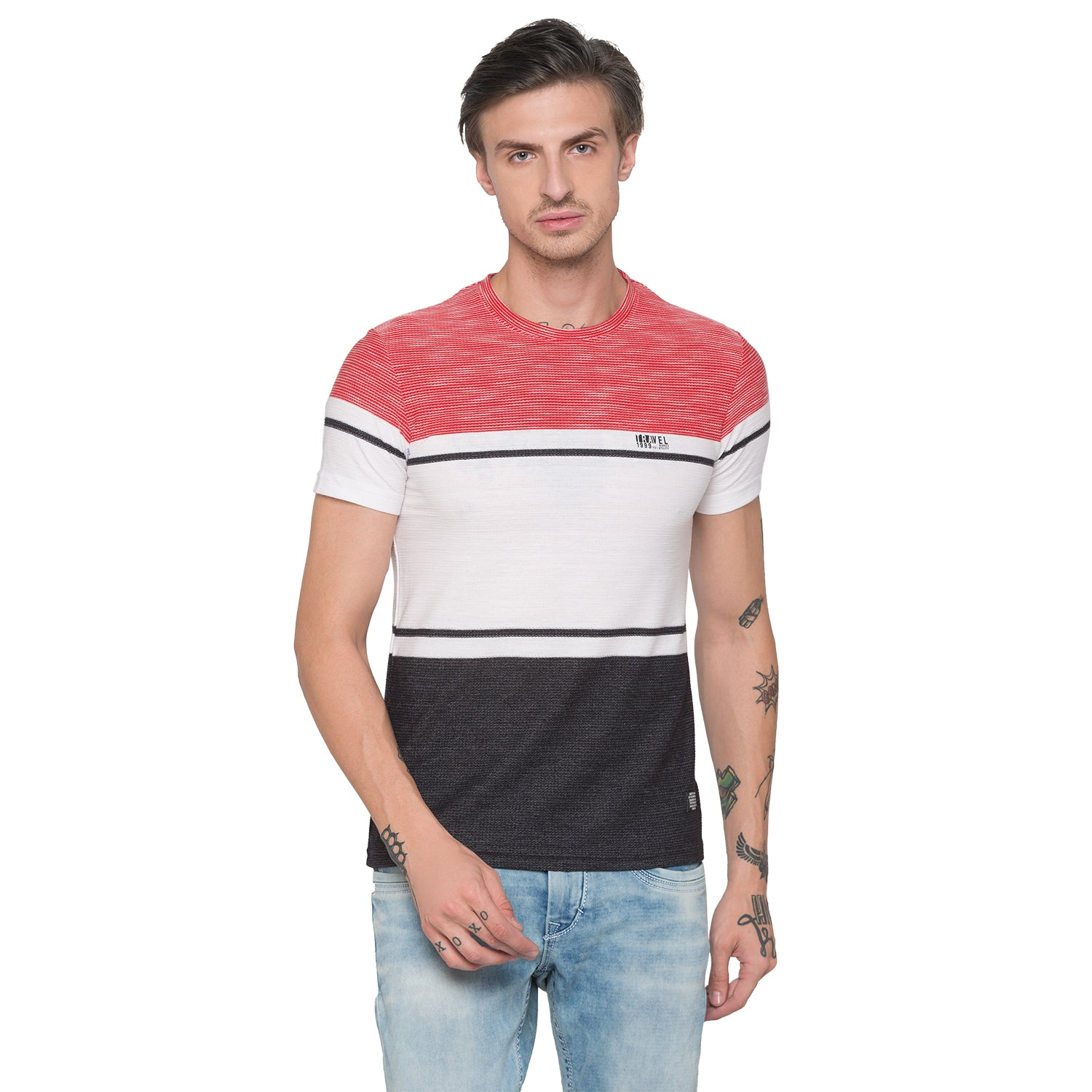 Globus Red Striped T-Shirt-1