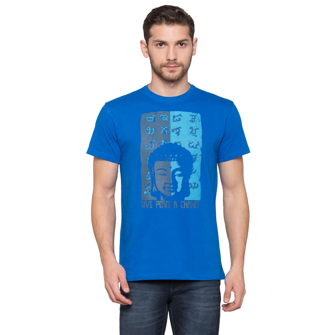 Globus Blue Graphic T-Shirt1