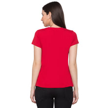Load image into Gallery viewer, Globus Red Typography T-Shirt3