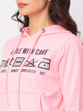 Load image into Gallery viewer, Globus Pink Printed Sweatshirt-5