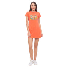 Load image into Gallery viewer, Globus Orange Printed Dress-4
