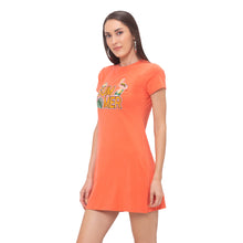 Load image into Gallery viewer, Globus Orange Printed Dress-2