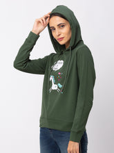 Load image into Gallery viewer, Globus Green Printed Sweatshirt-4