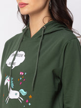 Load image into Gallery viewer, Globus Green Printed Sweatshirt-5