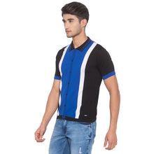 Load image into Gallery viewer, Royal Blue & Black Solid Shirt-2