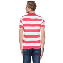 Load image into Gallery viewer, Globus White Striped Polo T-Shirt-3