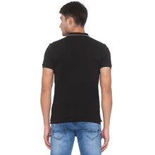 Load image into Gallery viewer, Black Printed T-Shirt-3