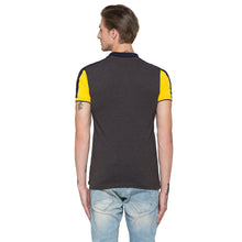 Load image into Gallery viewer, Globus Mustard Colourblocked Polo T-Shirt-3
