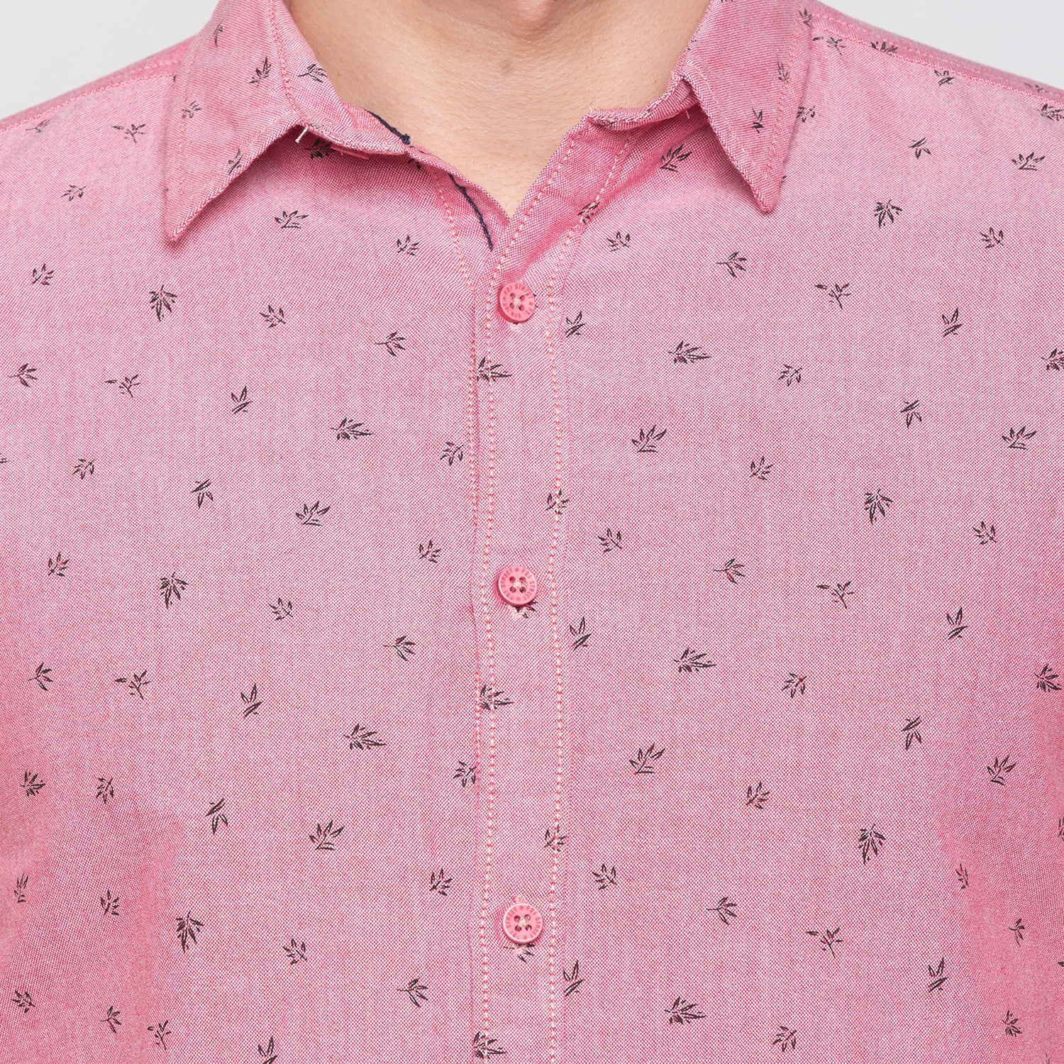 Globus Red Printed Shirt-5