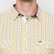 Load image into Gallery viewer, Globus Yellow Checked Shirt-5
