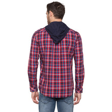 Load image into Gallery viewer, Globus Red & Navy Blue Checked Shirt-3