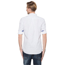 Load image into Gallery viewer, Globus White Printed Shirt-3