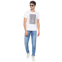 Load image into Gallery viewer, White Printed T-Shirt-4