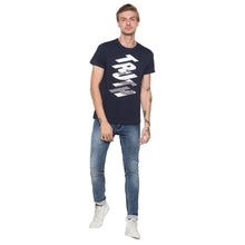 Load image into Gallery viewer, Globus Navy Blue Printed T-Shirt-4