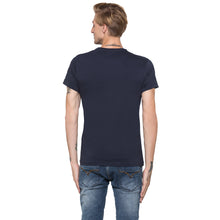 Load image into Gallery viewer, Globus Navy Blue Printed T-Shirt-3