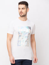 Load image into Gallery viewer, Globus White Printed T-Shirt-1