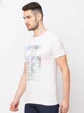 Load image into Gallery viewer, Globus White Printed T-Shirt-2