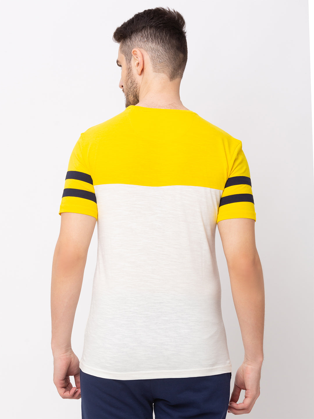 Globus Yellow Printed T-Shirt-3