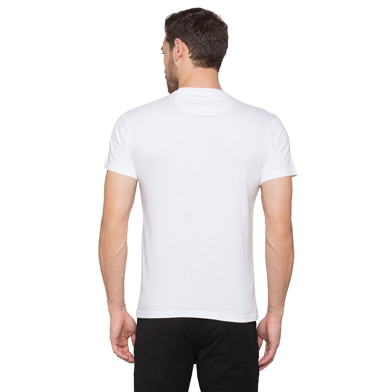 Globus White Graphic T-Shirt3