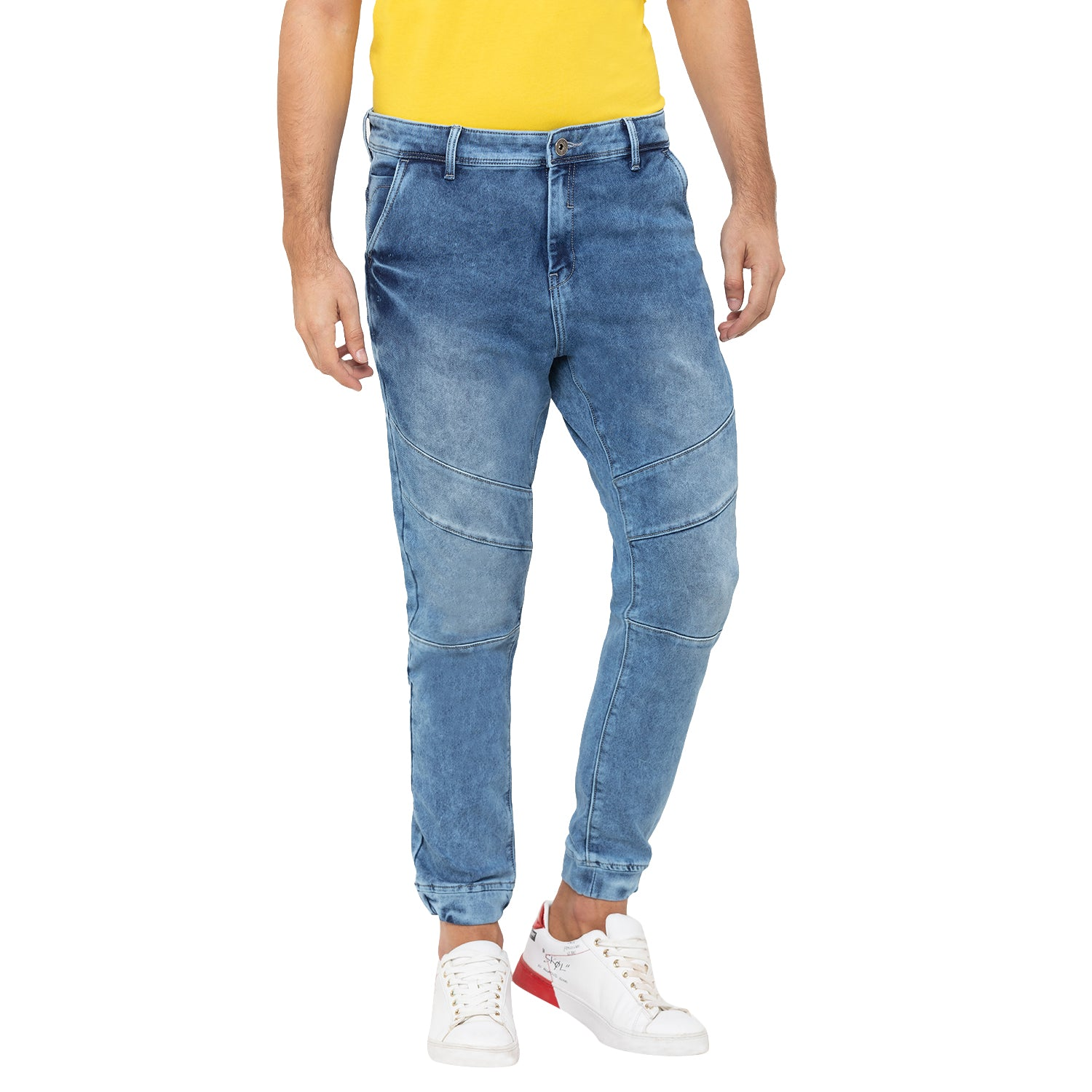 Globus Blue Washed Clean Look Jeans-6