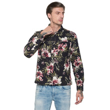 Load image into Gallery viewer, Globus Black Printed Shirt-1