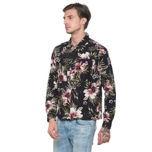 Load image into Gallery viewer, Globus Black Printed Shirt-2