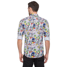 Load image into Gallery viewer, Globus White Printed Shirt3