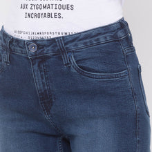 Load image into Gallery viewer, Globus Blue Solid Jeans-5