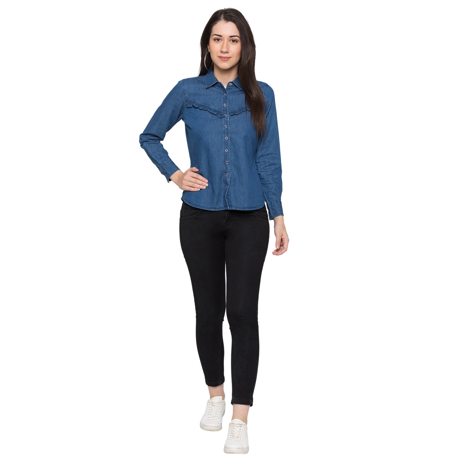 Globus Blue Solid Shirt4